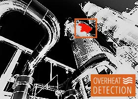 Thermal image - heat detection
