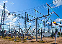 electric high voltage substations