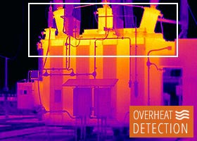 Thermal image - overheating detection